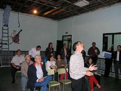"""VISITA DEL EQUIPO INVESTIGADOR DEL PROYECTO DE I+D """"CREACIÓN DE UN MUSEO PEDAGÓGICO ANDALUZ"""" A LOS COLEGIOS PADRE MANJÓN Y ALTOS COLEGIOS."""