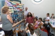 Cien alumnos del Colegio Macarena recibieron clases en la Casa de las Sirenas (ABC, 22-9)